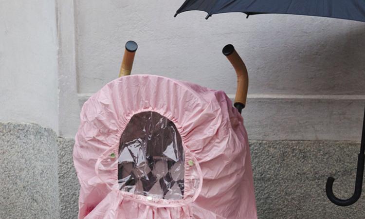 burbujas de lluvia & colchonetas para silla