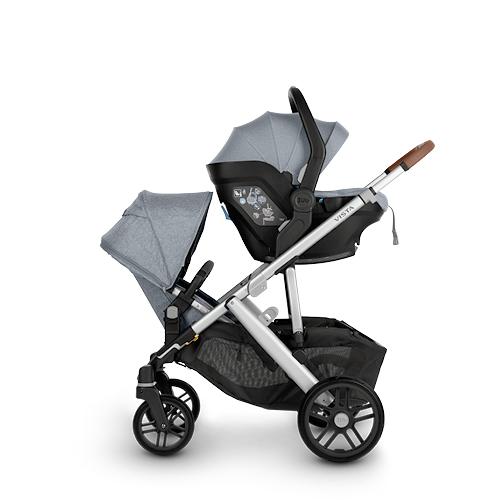 illa de coche para recién nacido grupo 0+ MESA i-SIZE + asiento adicional RumbleSeat adaptador superior necesario