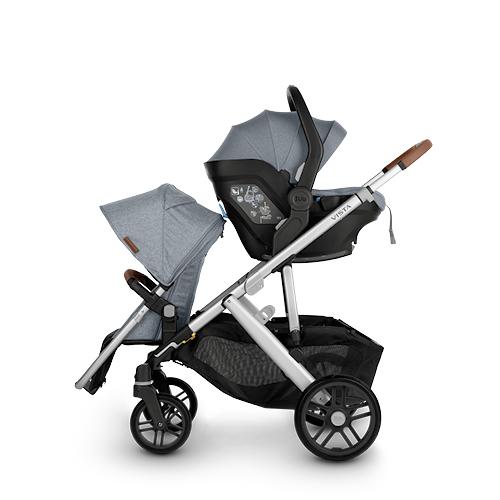 silla de coche para recién nacido grupo 0+ MESA i-SIZE + asiento adicional RumbleSeat adaptador superior necesario
